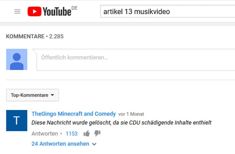 carlosmrosek.com youtube cdu artikel 13 - Wie CDU und SPD die Demokratie abschaffen - Big Boullion is watching you