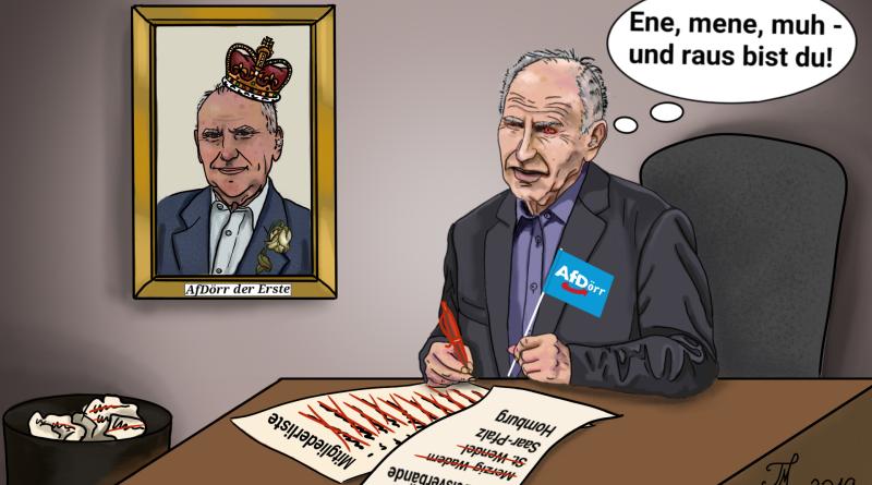 carlosmrosek.com AfDoerr Josef Dörr AfD Parteiausschluss