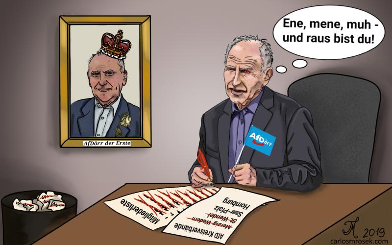 """carlosmrosek.com AfDoerr ene mene muh 2 md - AfD Bundesvorstand erklärt """"System Dörr"""" für """"Demokratie-tauglich"""" - echt jetzt?"""