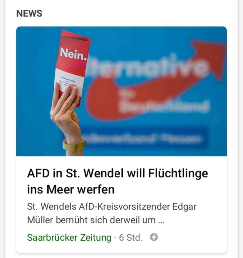 carlosmrosek.com Saarbrücker Zeitung FakeNews 20190715 - Primitivistischer Jahresrückblick 2019 - Teil 1 - Zeitungen und Fernsehen