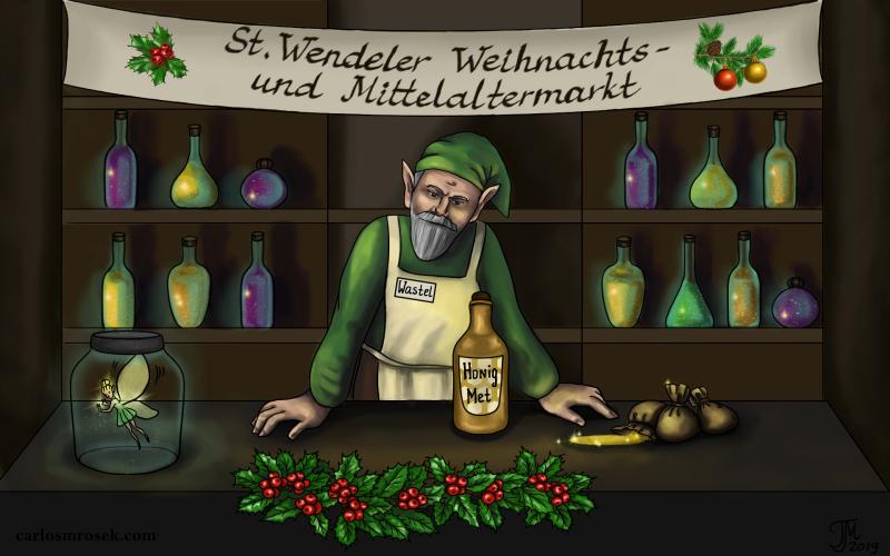 carlosmrosek.com stwendel mittelaltermarkt weihnachtsmarkt - Einladung zum St. Wendeler Weihnachtsmarkt & Mittelaltermarkt 2019