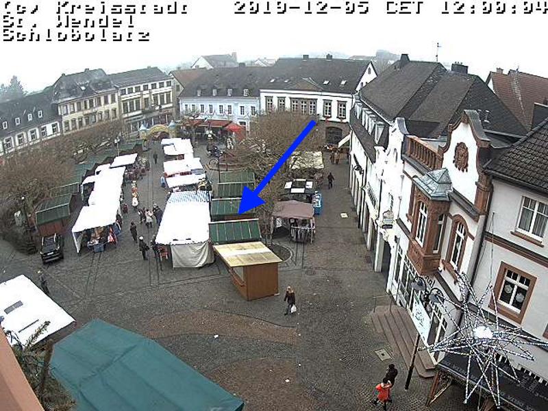 carlosmrosek.com stwendel webcam schlossplatz - Einladung zum St. Wendeler Weihnachtsmarkt & Mittelaltermarkt 2019