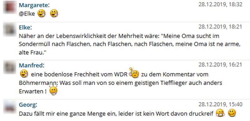nerofix.com wdr umweltsau kommentare - Primitivistischer Jahresrückblick 2019 - Teil 1 - Zeitungen und Fernsehen