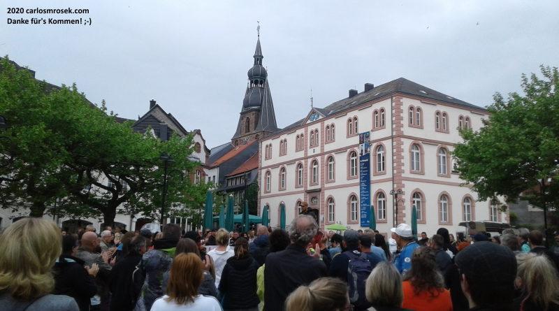 Historische Demokratie-Demo in St. Wendel