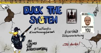 carlosmrosek.com cdu duckthesystem big boullion 390x205 - Saarländische Polizei jagt unbekannten Graffiti Künstler aus St. Wendel
