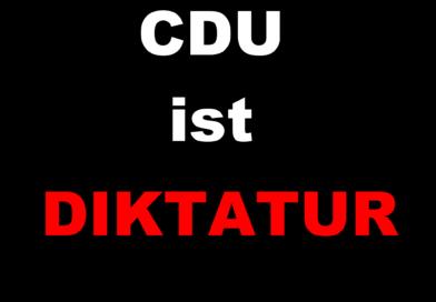 Offener Brief – Kampf gegen den CDU Faschismus – Demokratie jetzt