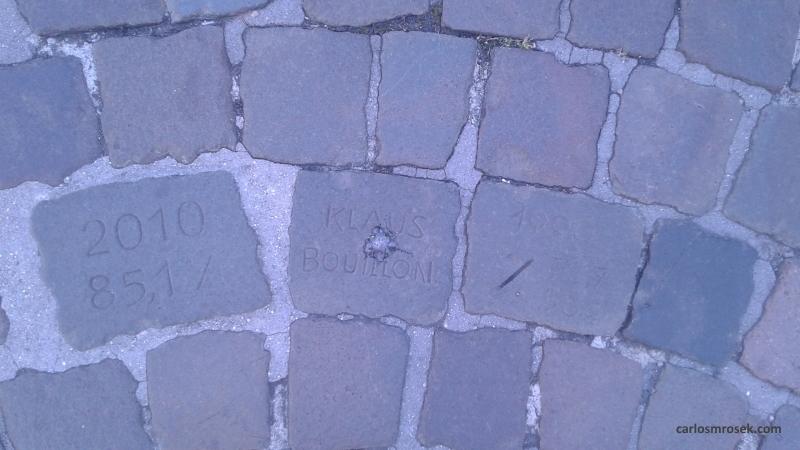 carlosmrosek.com stwendel klausbouillon pflasterstein - Saarländische Polizei jagt unbekannten Graffiti Künstler aus St. Wendel