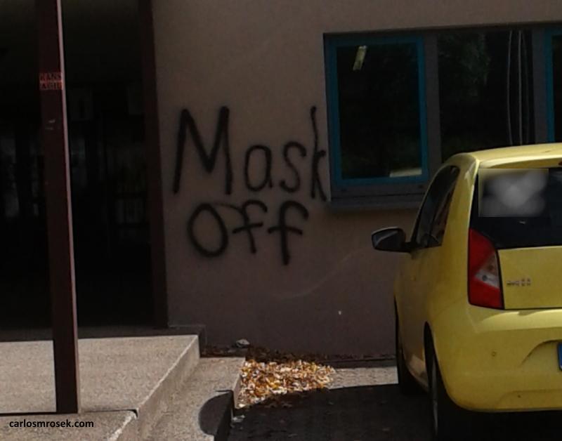 carlosmrosek.com stwendel maskoff2 - Saarländische Polizei jagt unbekannten Graffiti Künstler aus St. Wendel